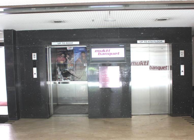 Elevator Branding Outside, Kolkata
