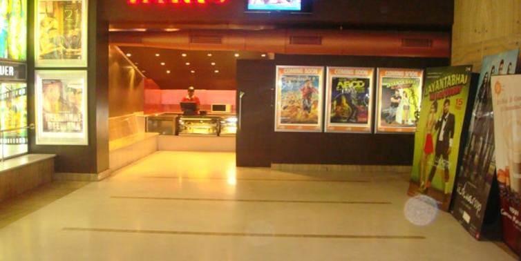Kiosk Activity in Multiplex Lobby, Kolkata