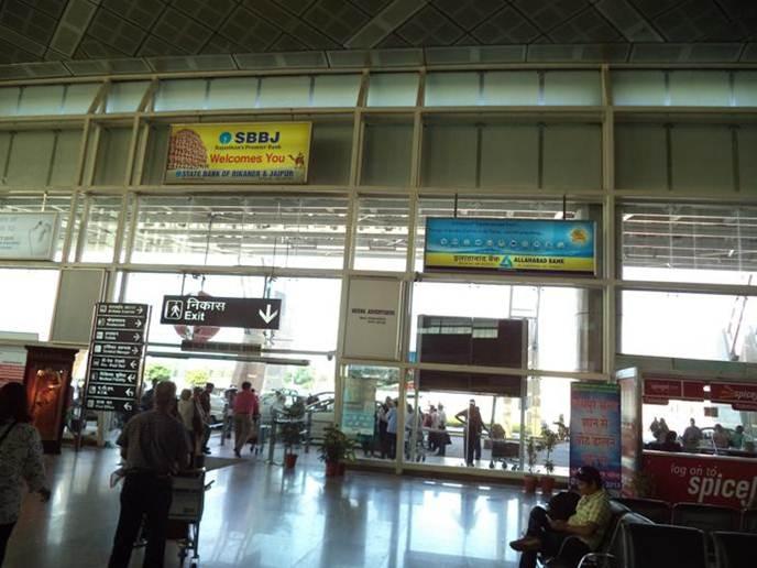 Arrival Exit Gate, Jaipur