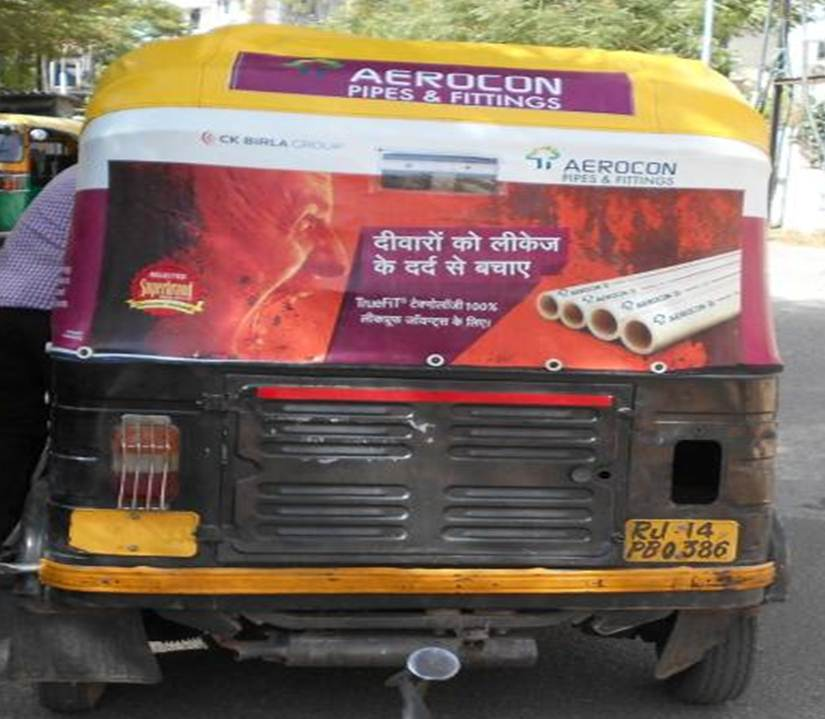 Auto Branding, Jaipur