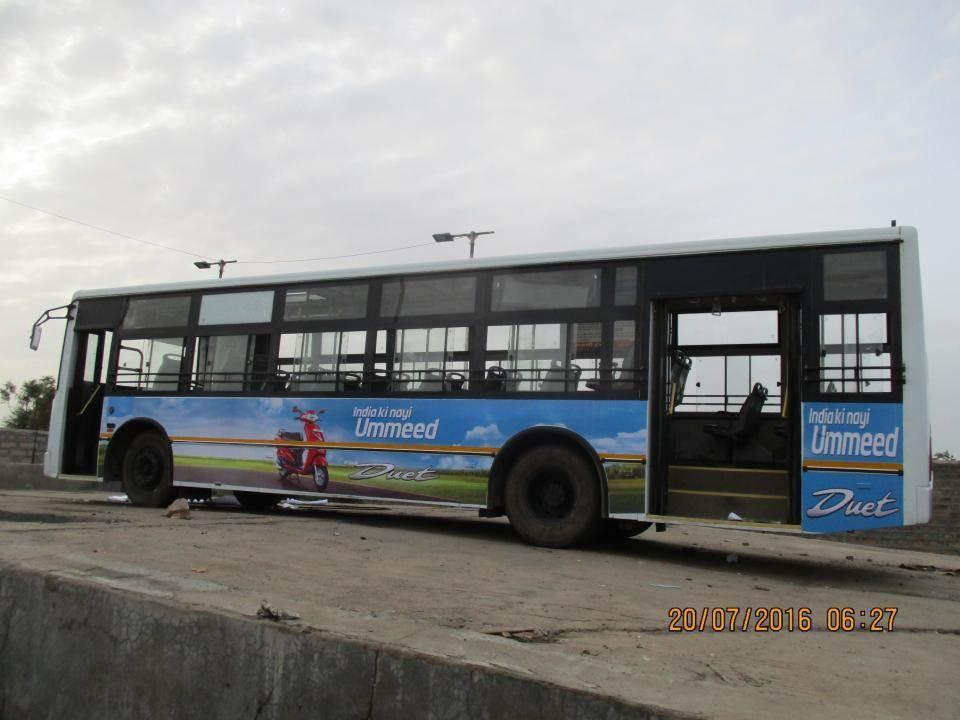 Bus Conductor Side Panel, Jodhpur