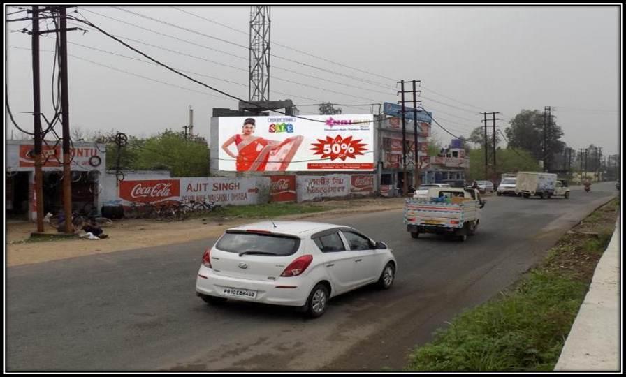 Delhi road near entry point of  Airport, Ludhiana
