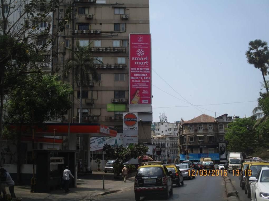 Kemps corner traffic going towards Warden road junction ET, Mumbai