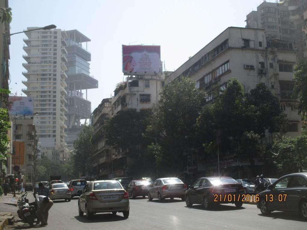 Pedder Rd  opp Jaslok Hospital RHS MT, Mumbai