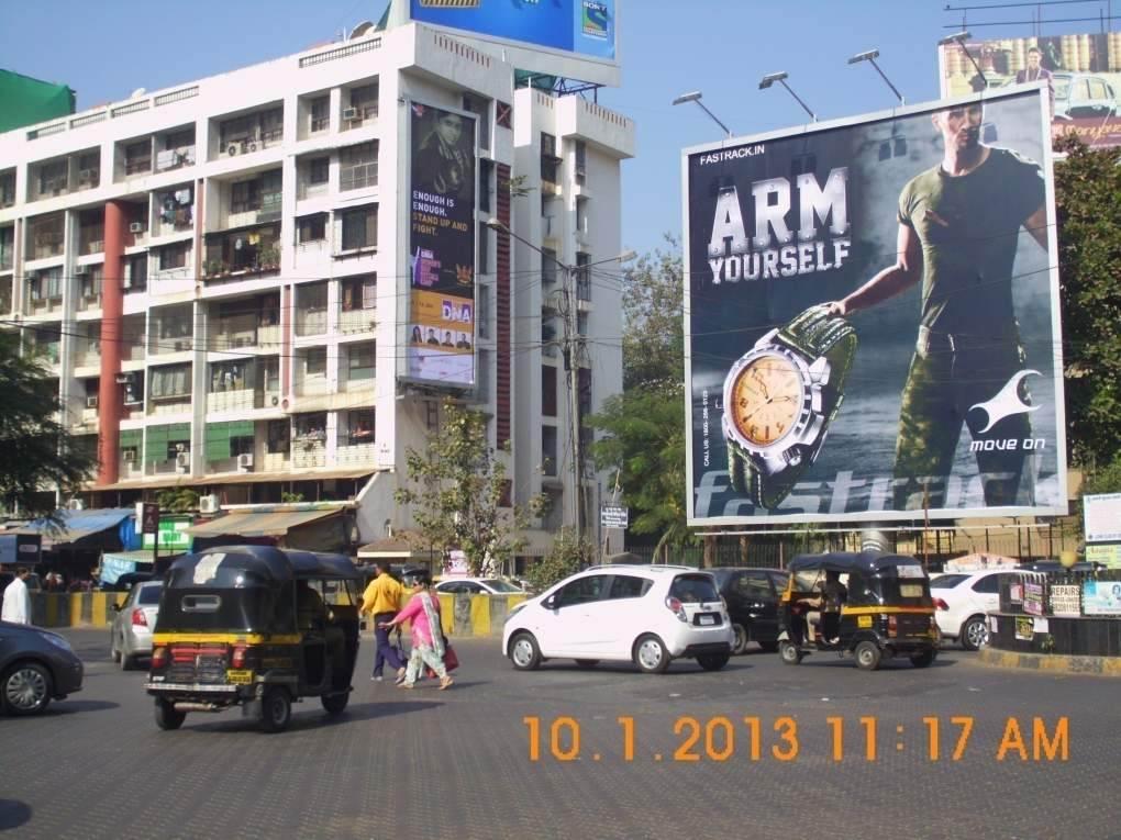 Andheri Shastri Nagar at Barista circle, Mumbai