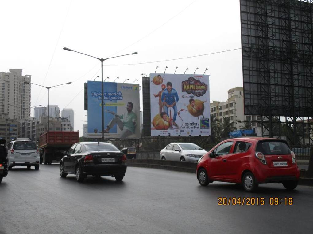 Goregaon Flyover trf going from inorbit Mall , Mumbai