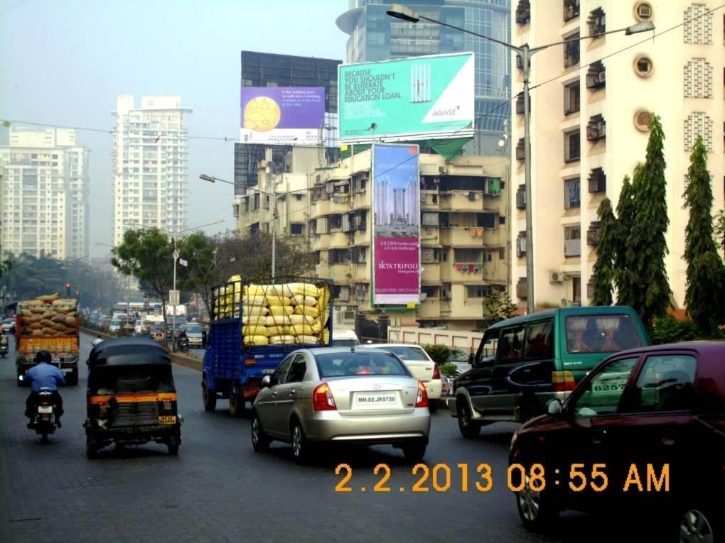 Goregoan SV Rd & Flyover Jn Only Text Matter MT, Mumbai