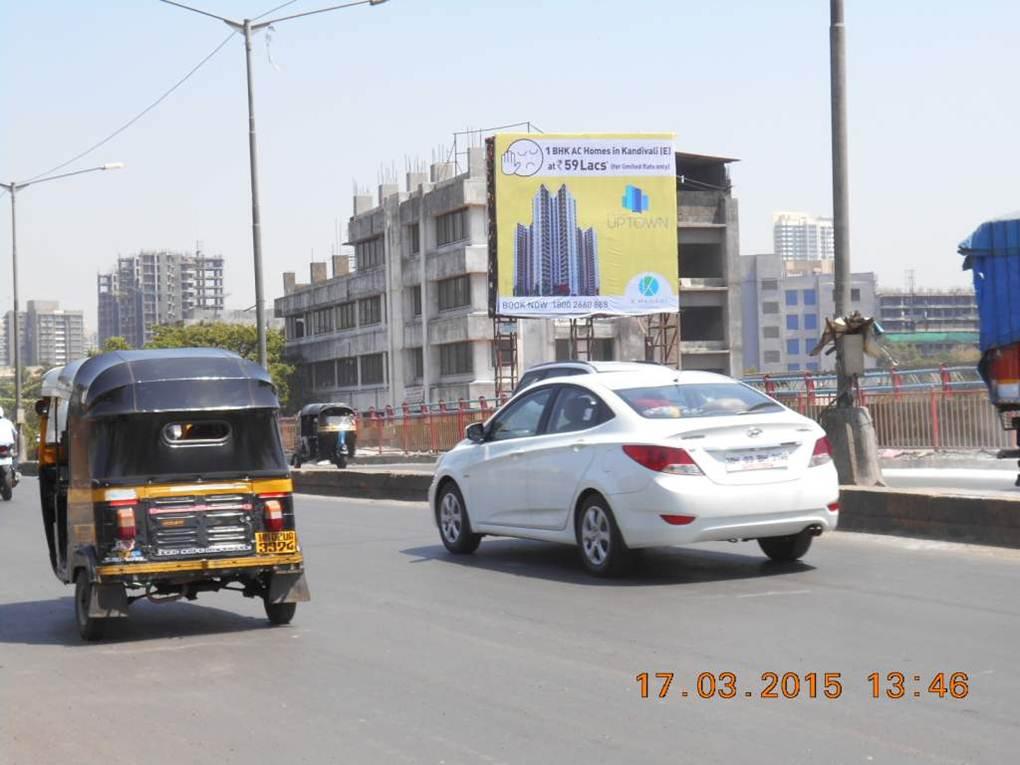 BORIVALI FLYOVER  E TO W  RHS  ET, Mumbai
