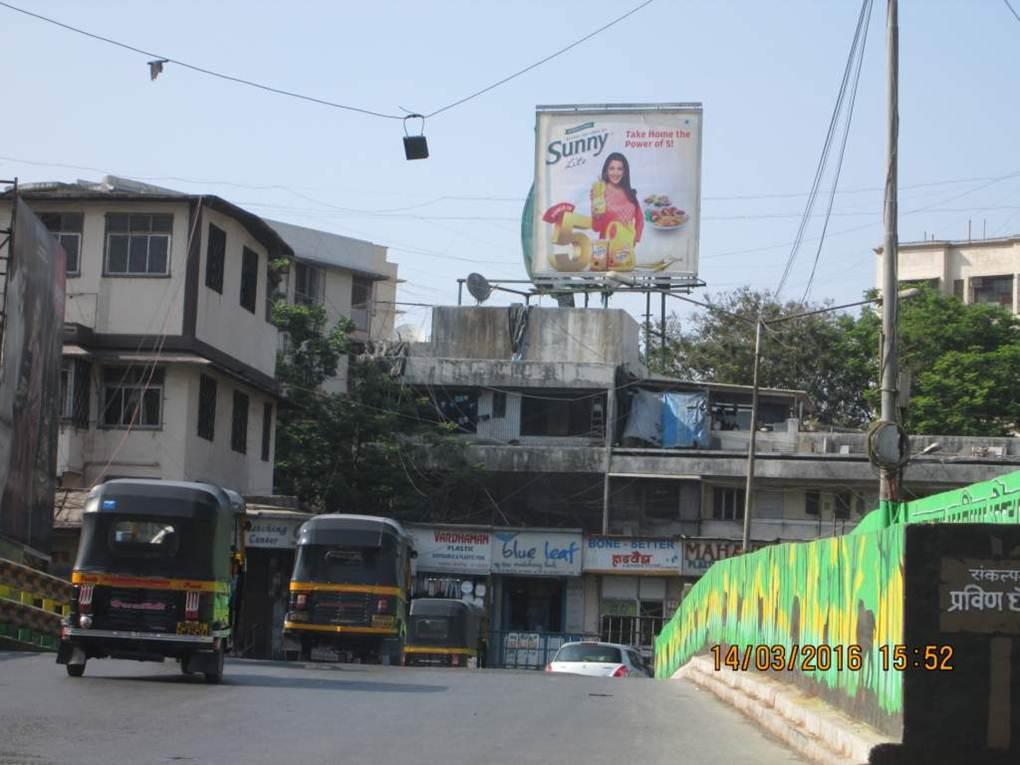 Ghatkopar MG Rd Bridge E TO W ET , Mumbai