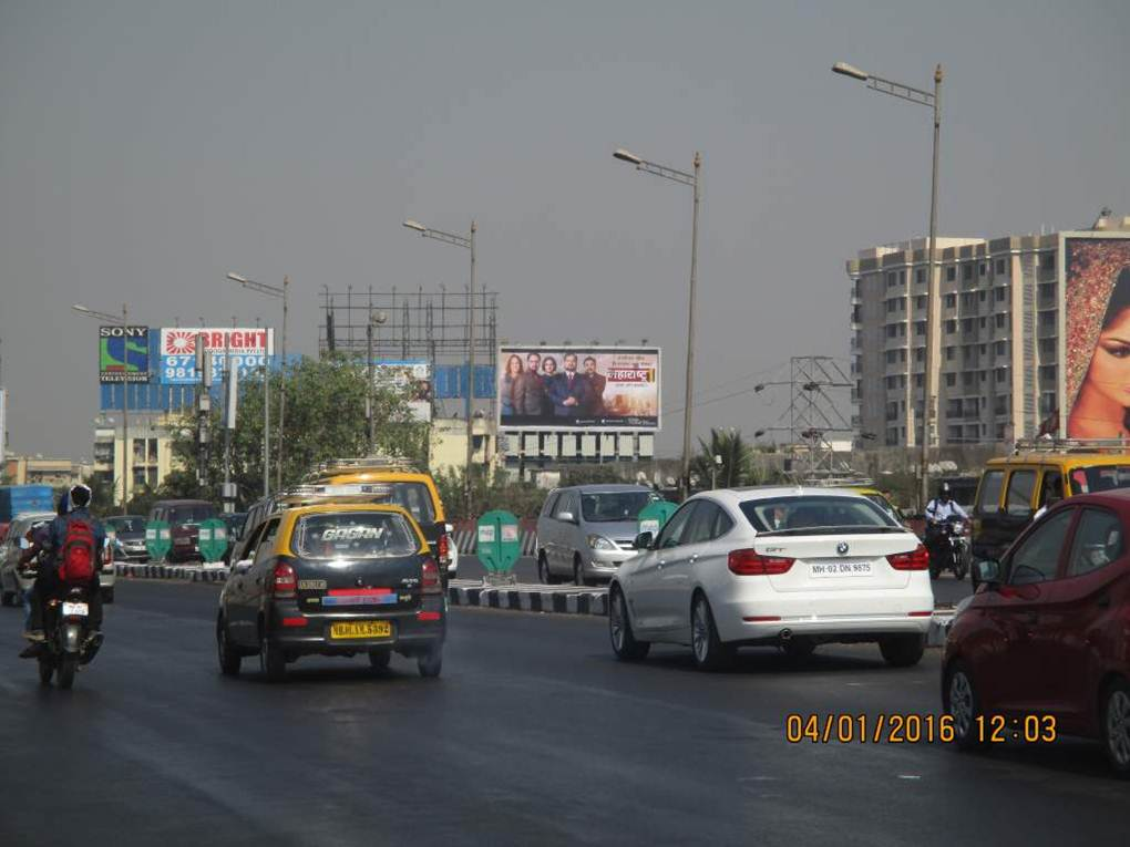 Santacruz Highway at Vakola Flyover  1 ET, Mumbai