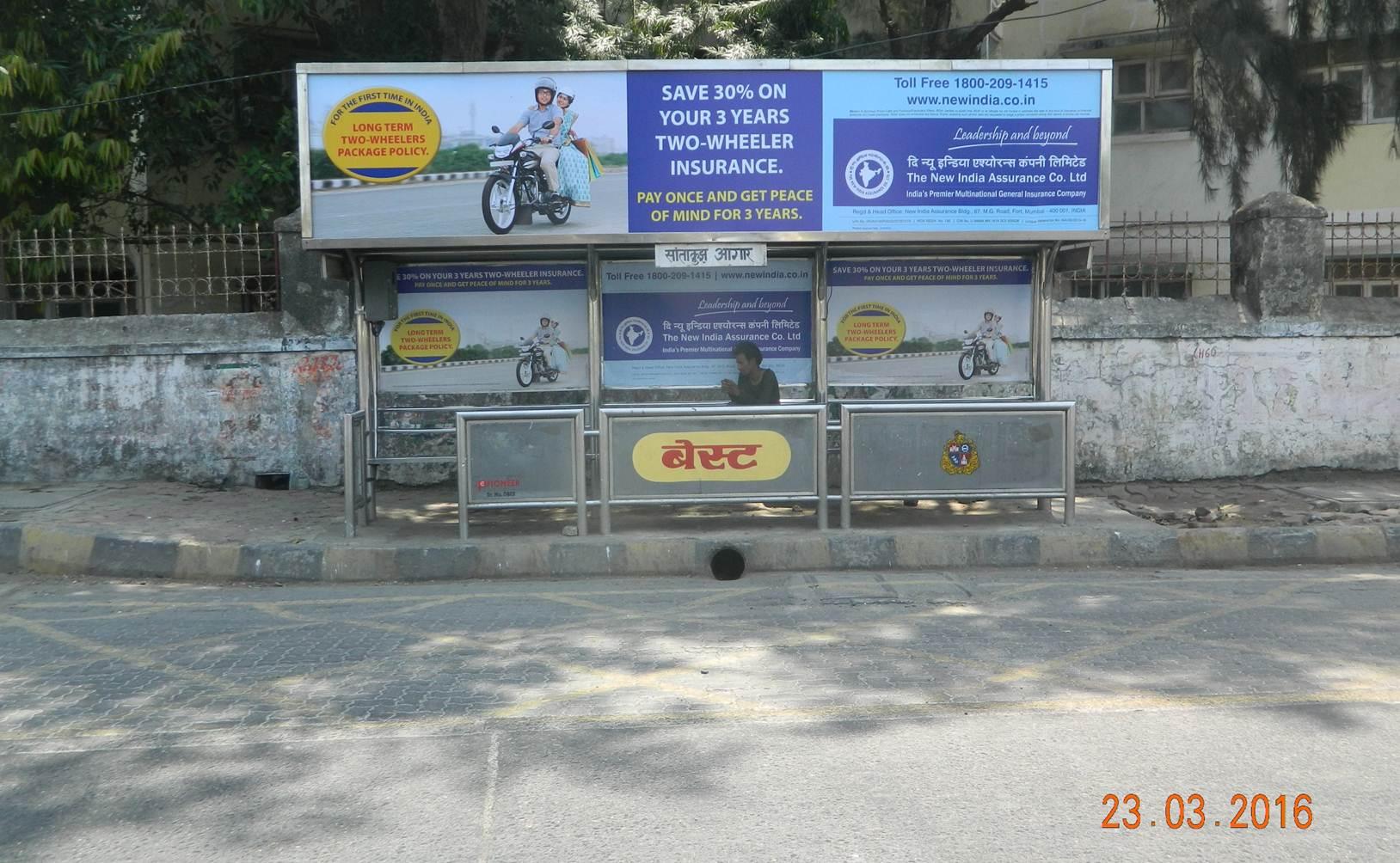 Santacruz  Opp Bus Depot Dn, Mumbai
