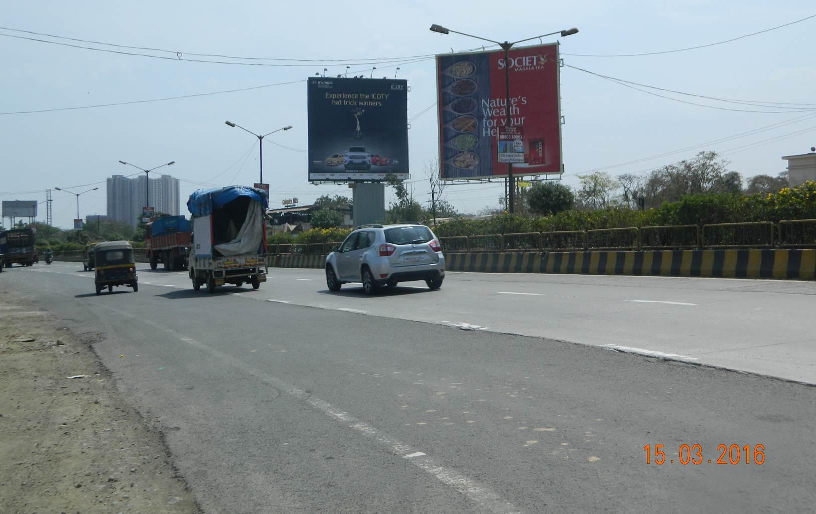 Thane Ghodbunder Road, Bhayanderpada, Mumbai