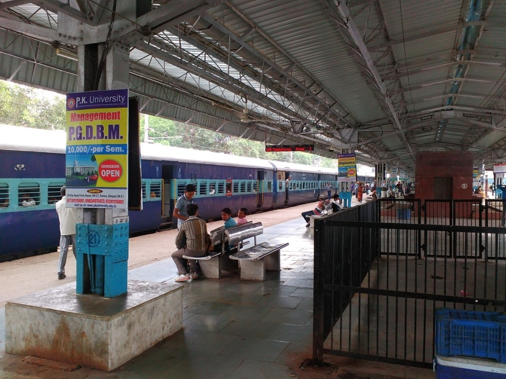 Platform no 7, Jhansi