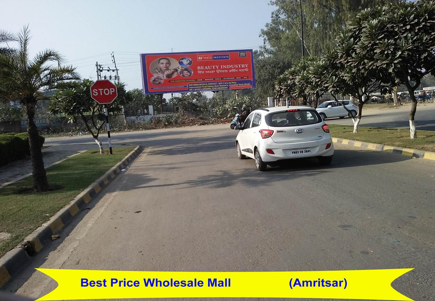 Outside Best Price Wholesale Shopping Mall, Amritsar