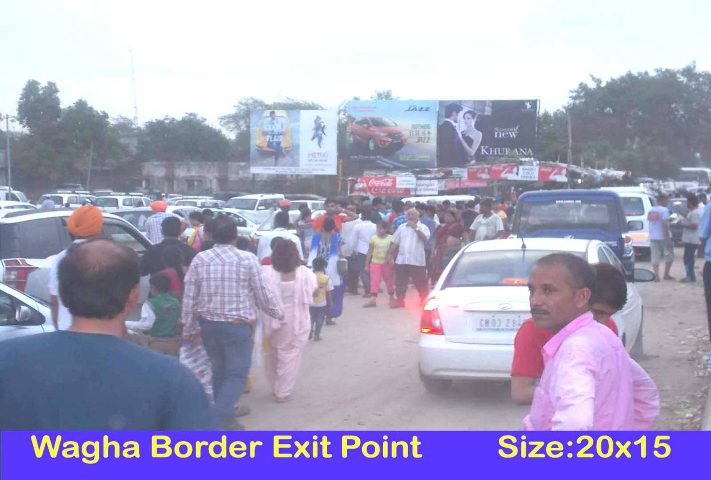 Wagha Border Main Exit Point, Amritsar