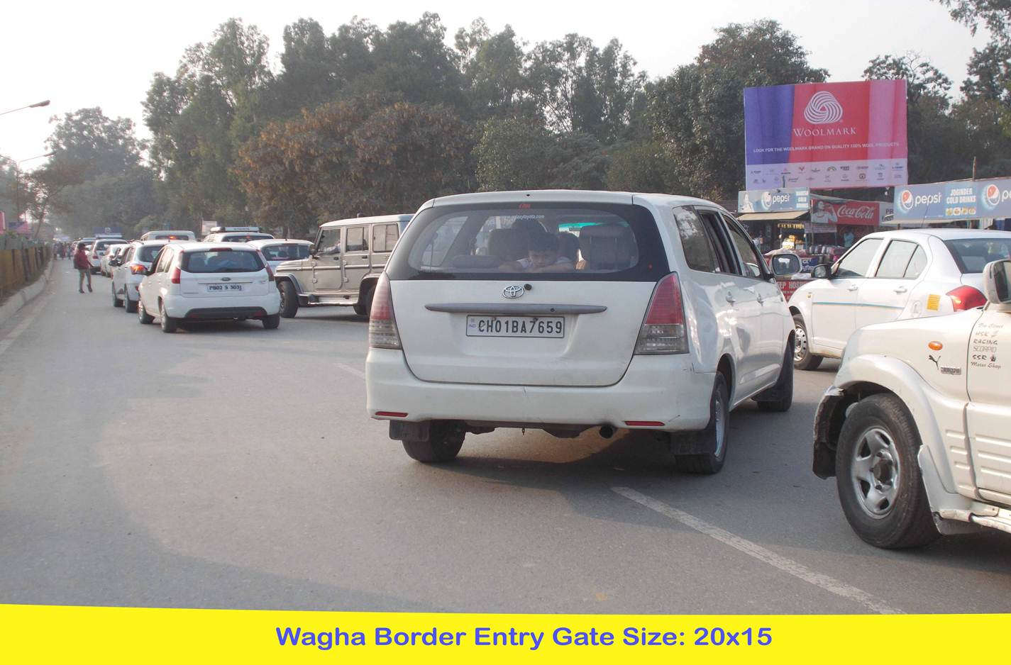 Wagha Border Entry Gate, Amritsar
