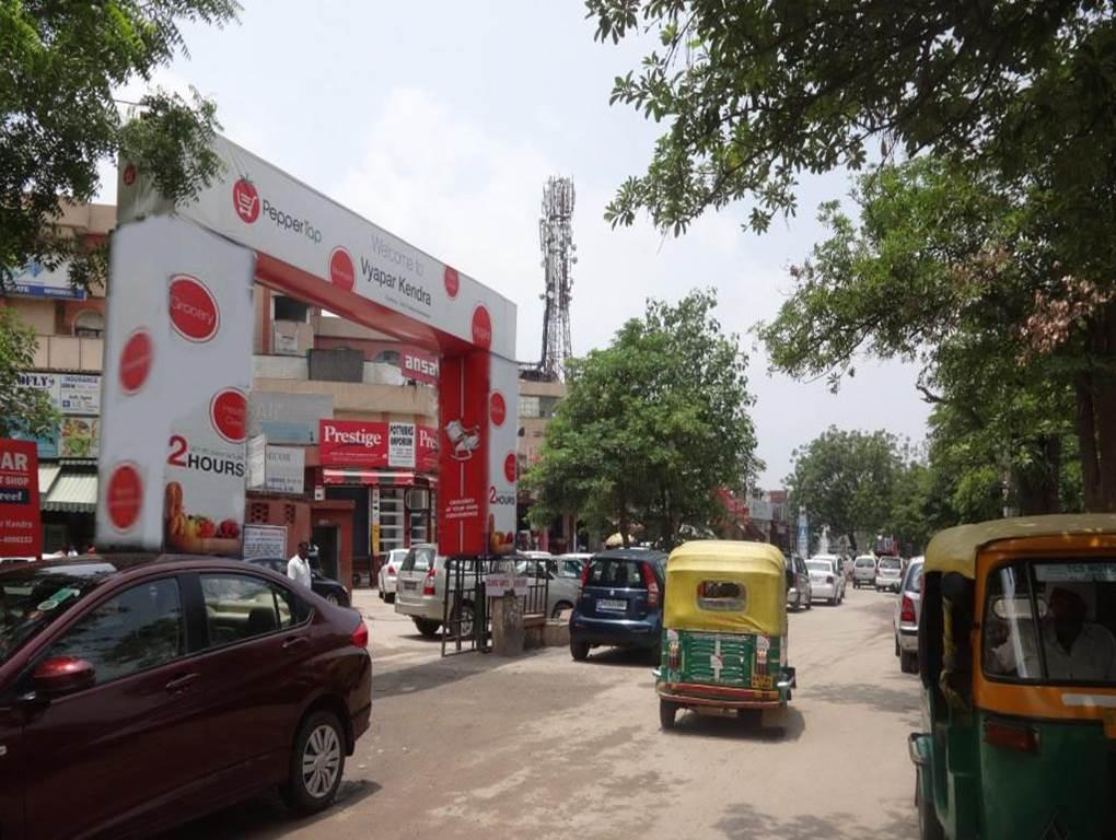 Vyparkendra Market Gurgaon