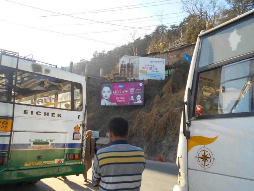 Sanjauli Bus Stop, Shimla