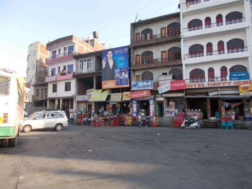 Chintpurni Bus Stand, Amb
