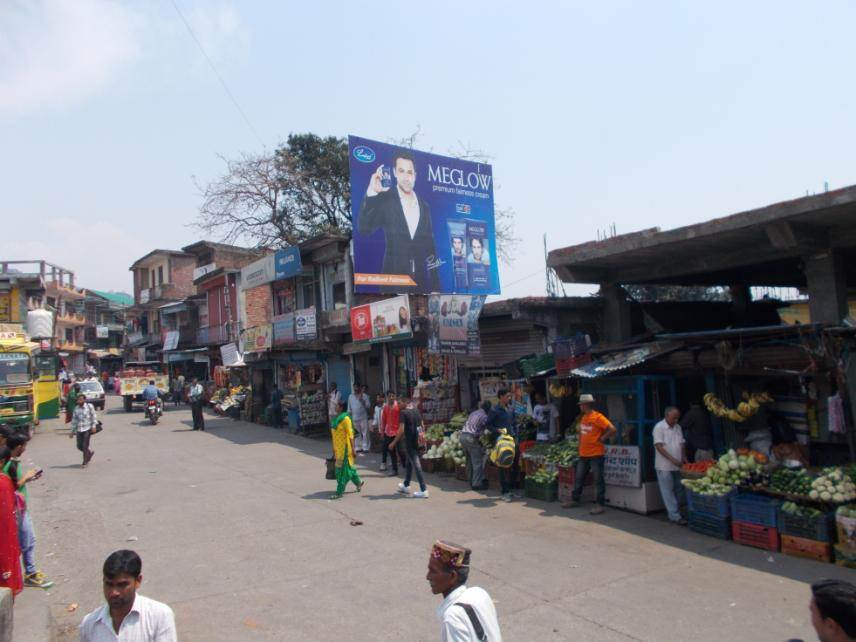 Baijnath Bus Stand, Amb