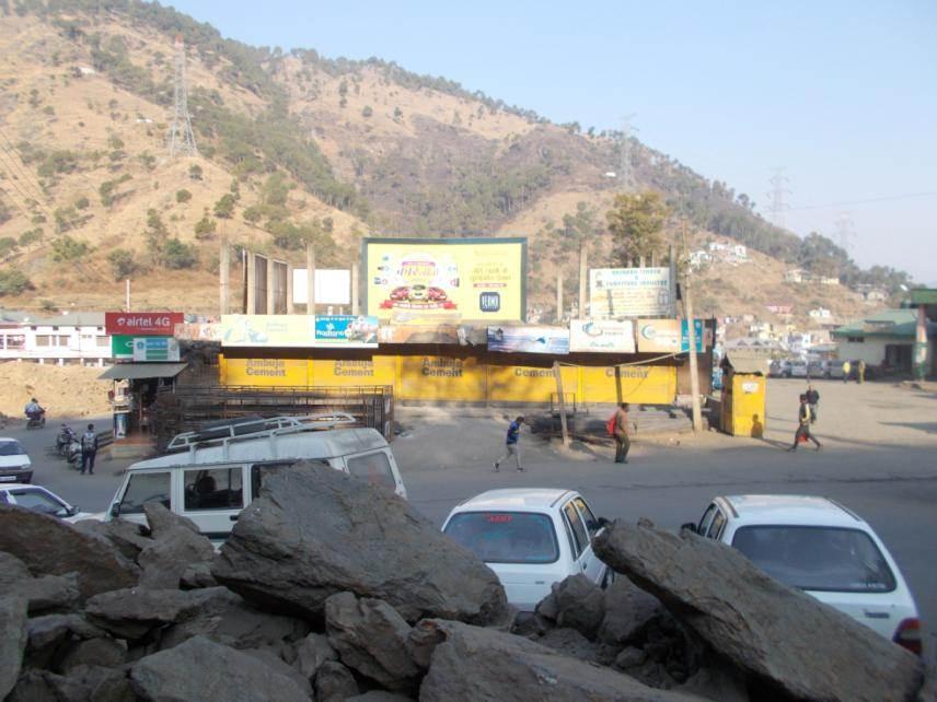 Rajgarh Bus Stand, Sirmaur