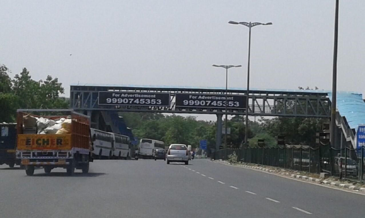 Karampura Footover Bridge, Delhi
