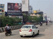 Khar Ghar traffic toward belapur