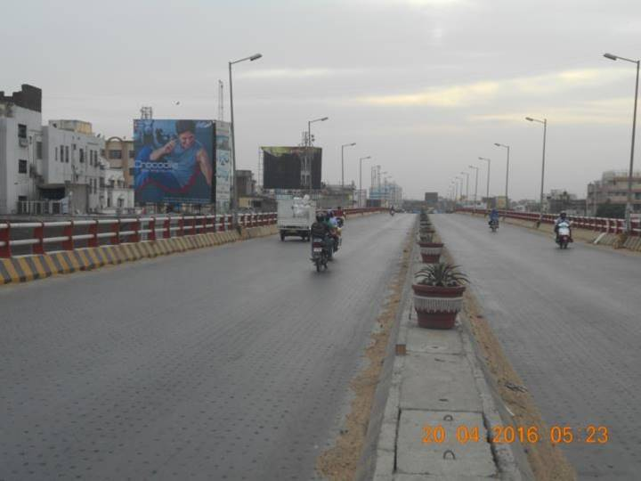 Raza Bazar Overbridge Nr. Jagdev, Patna
