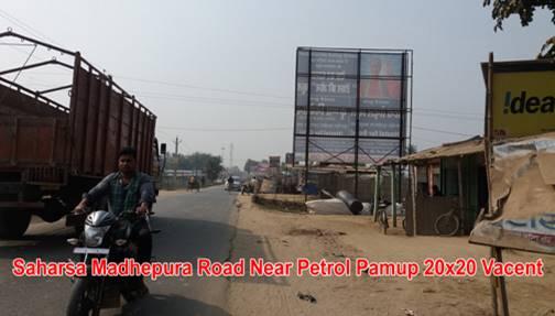 Madhepura rd Nr Petrol Pump, Saharsa