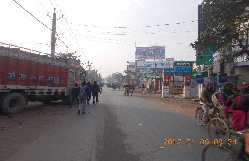 Shree Nagar Bus Stand, Siwan