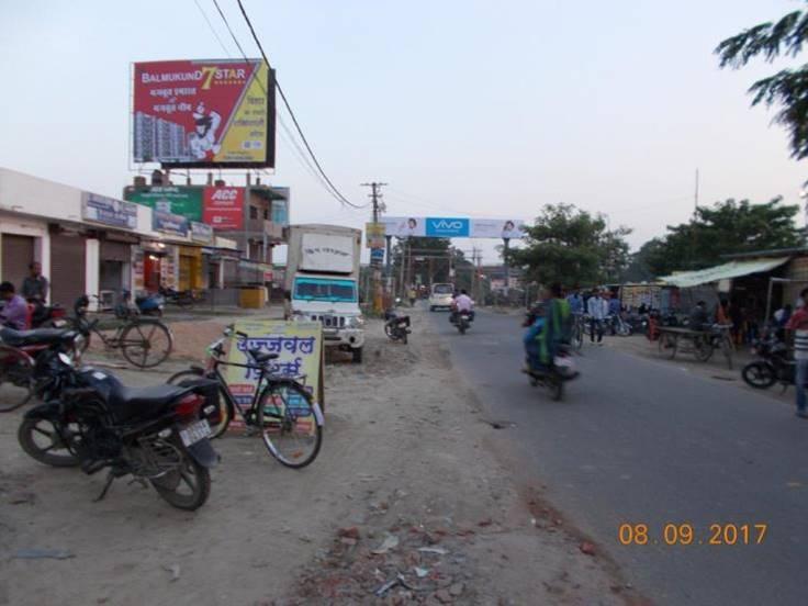 Rly. Crossing  Nr . Ramdayalu, Muzaffarpur