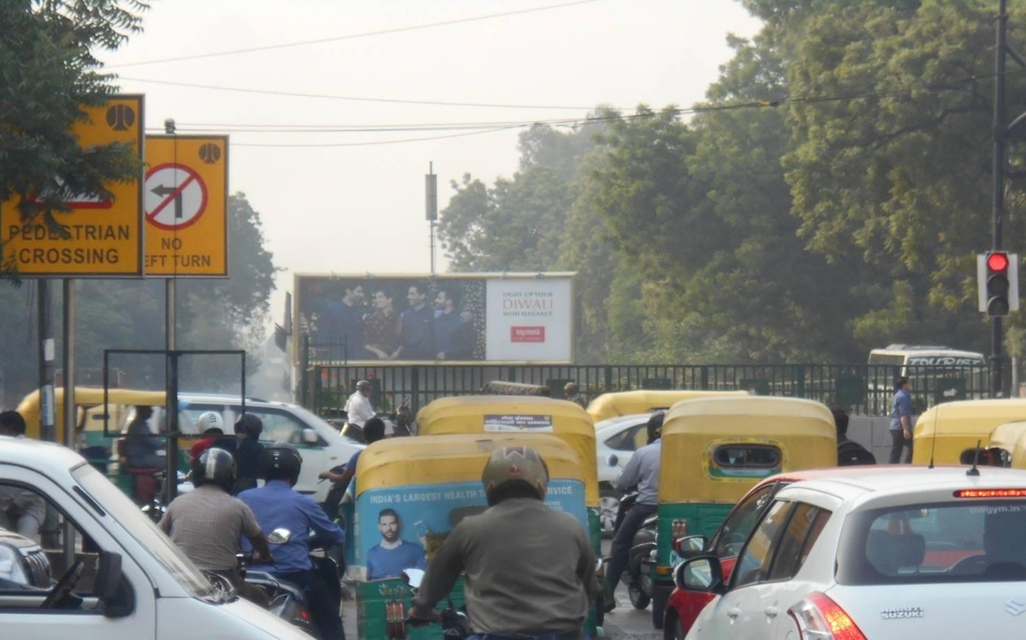 Wall Panel at CP Circle, Delhi