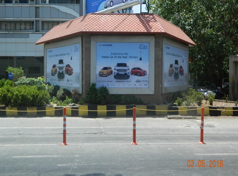 BKC OUTSIDE. RBI 1, UTILITY, MUMBAI
