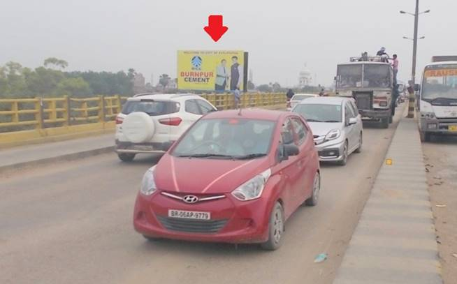 Gandhi setu fly over bridge, Patna