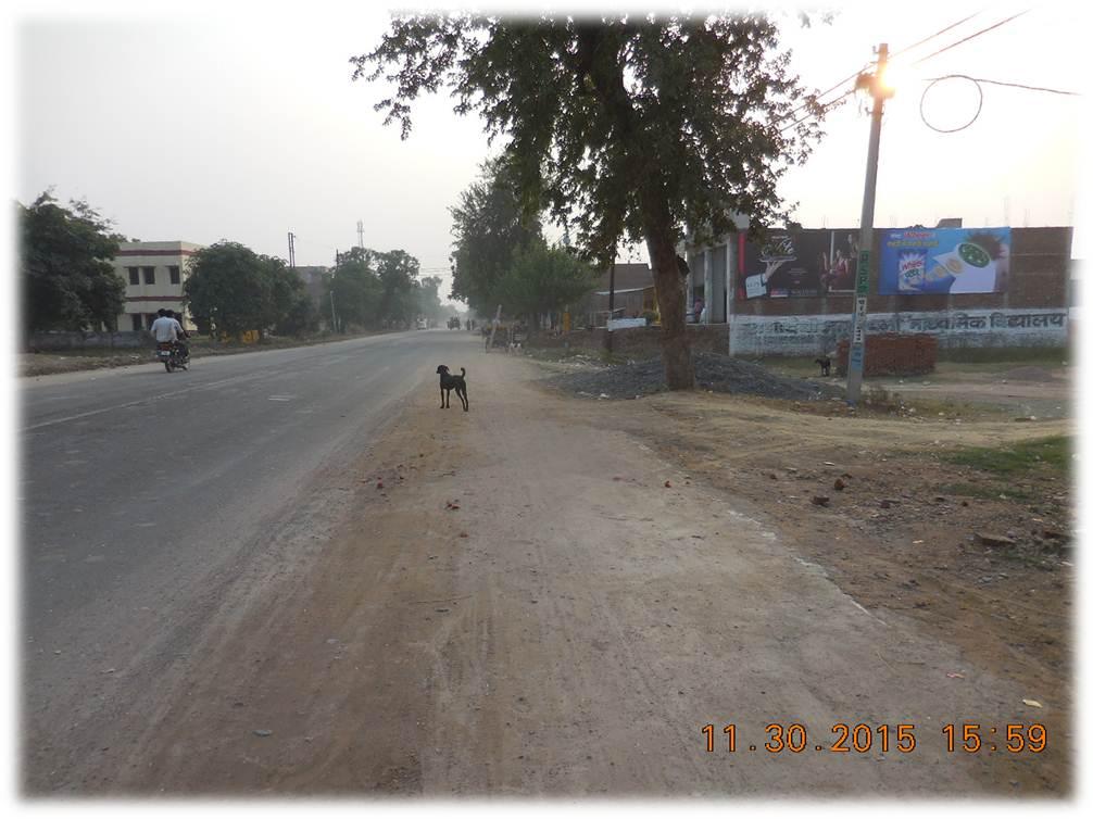 Front of lakhan Vatika, Etawah