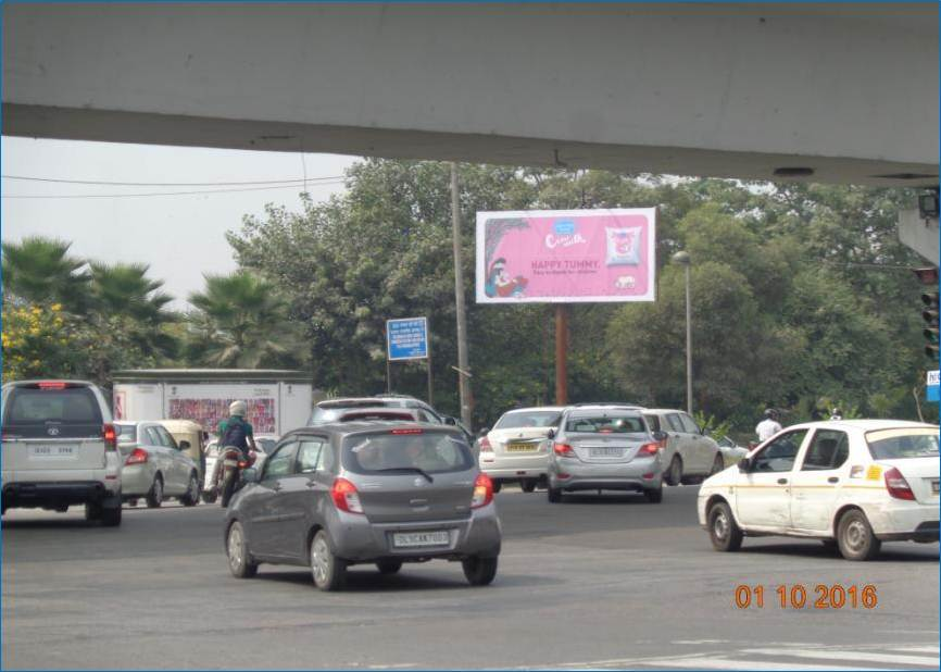 Unipole at T Point Indraprastha Park, New Delhi