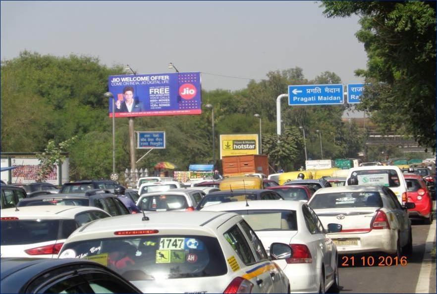 Unipole Railway Bridge Red Light, Bhairo Marg Ring Road, New Delhi