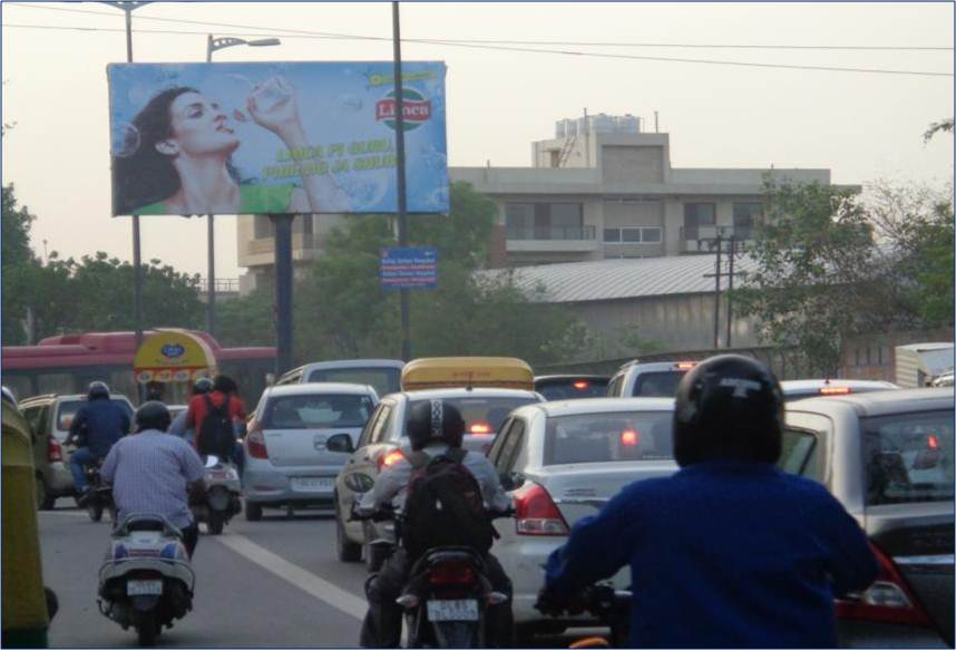 Unipole at Punjabi Bagh, Ring Road, New Delhi
