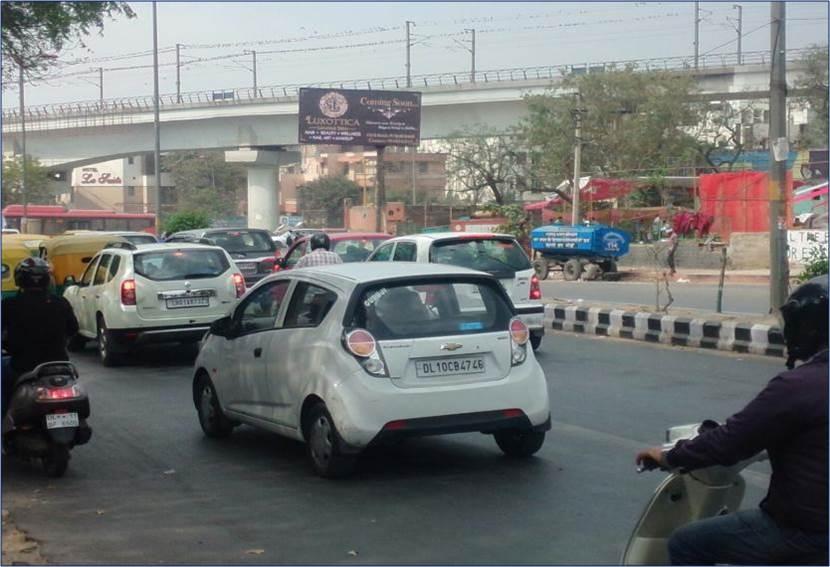 Pussa Road Chakkar, New Delhi