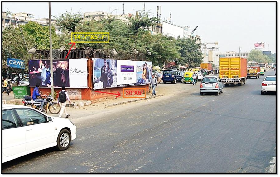 Utility At Nehru Place, New Delhi