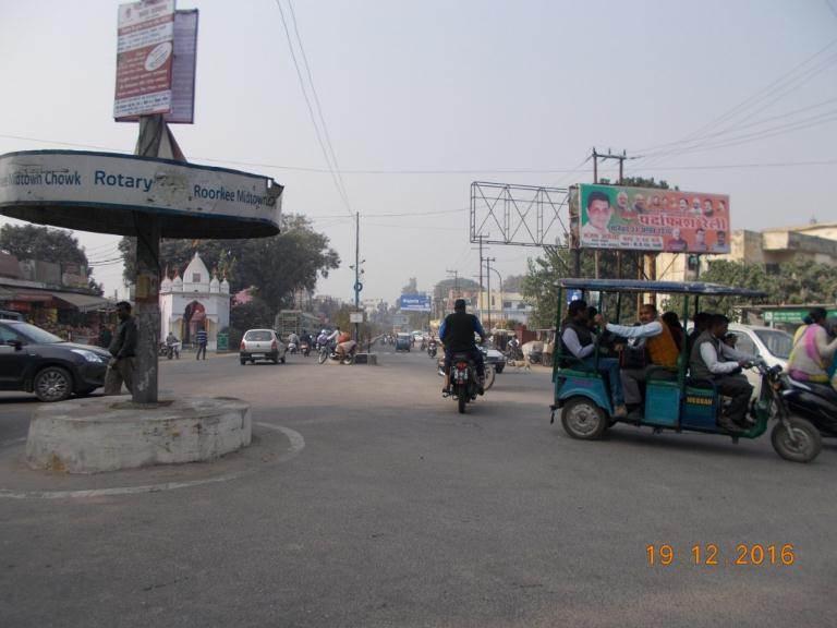 Gansh pull Bus Stand, Roorkee