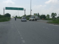 Delhi rohtak road near rohad toll plaza