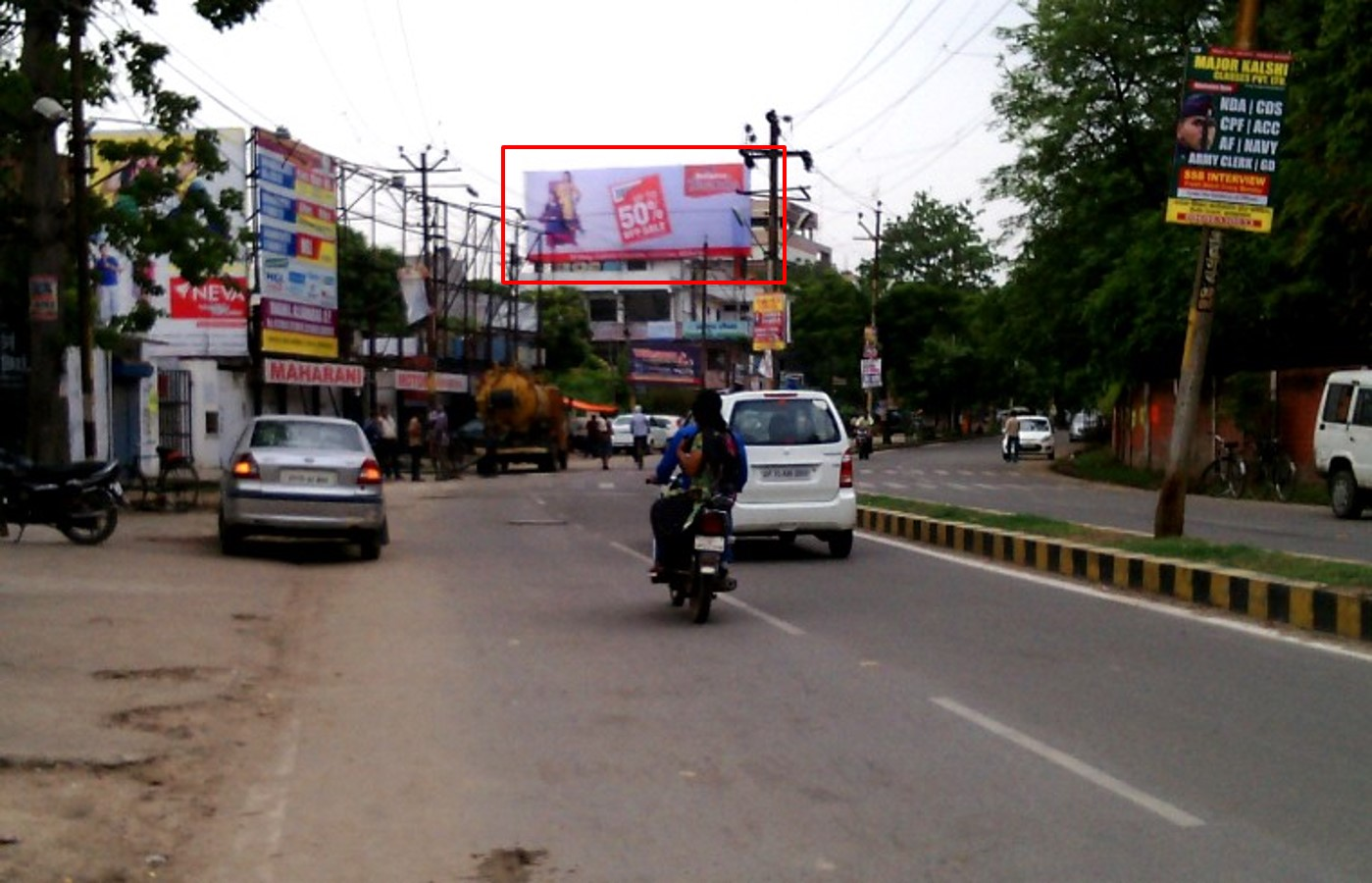Lowther Road , Darbhanga Xing, Allahabad
