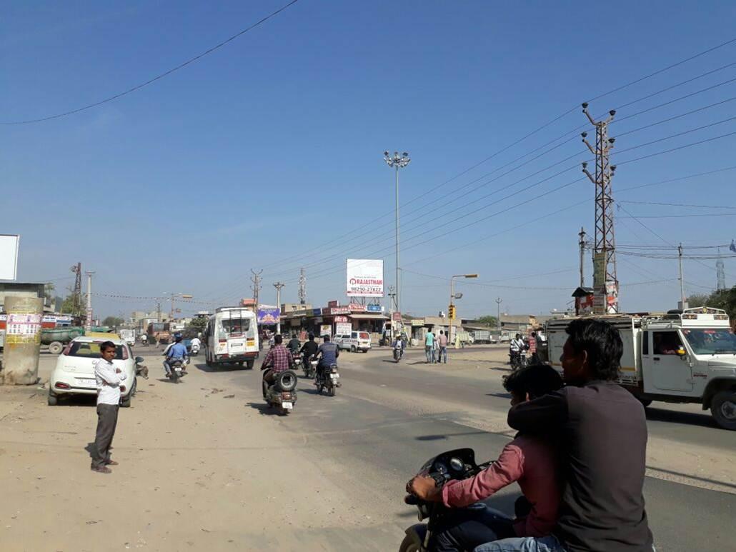 Sangariya Bypass Circle, Jodhpur