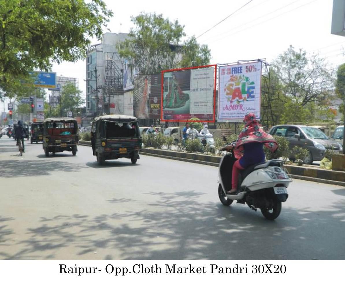 Opp.Cloth Market Pandri, Raipur