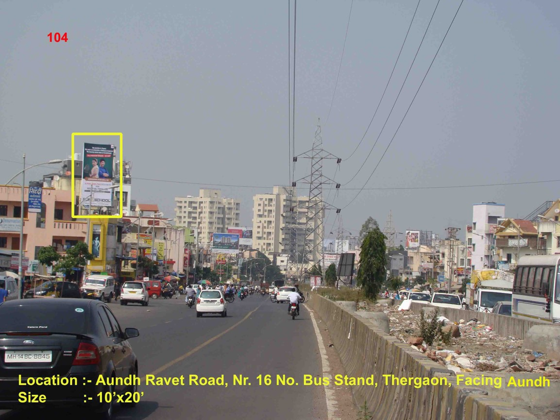 Aundh Ravet Road, Nr. 16 No. Bus Stand Thergaon, Pune