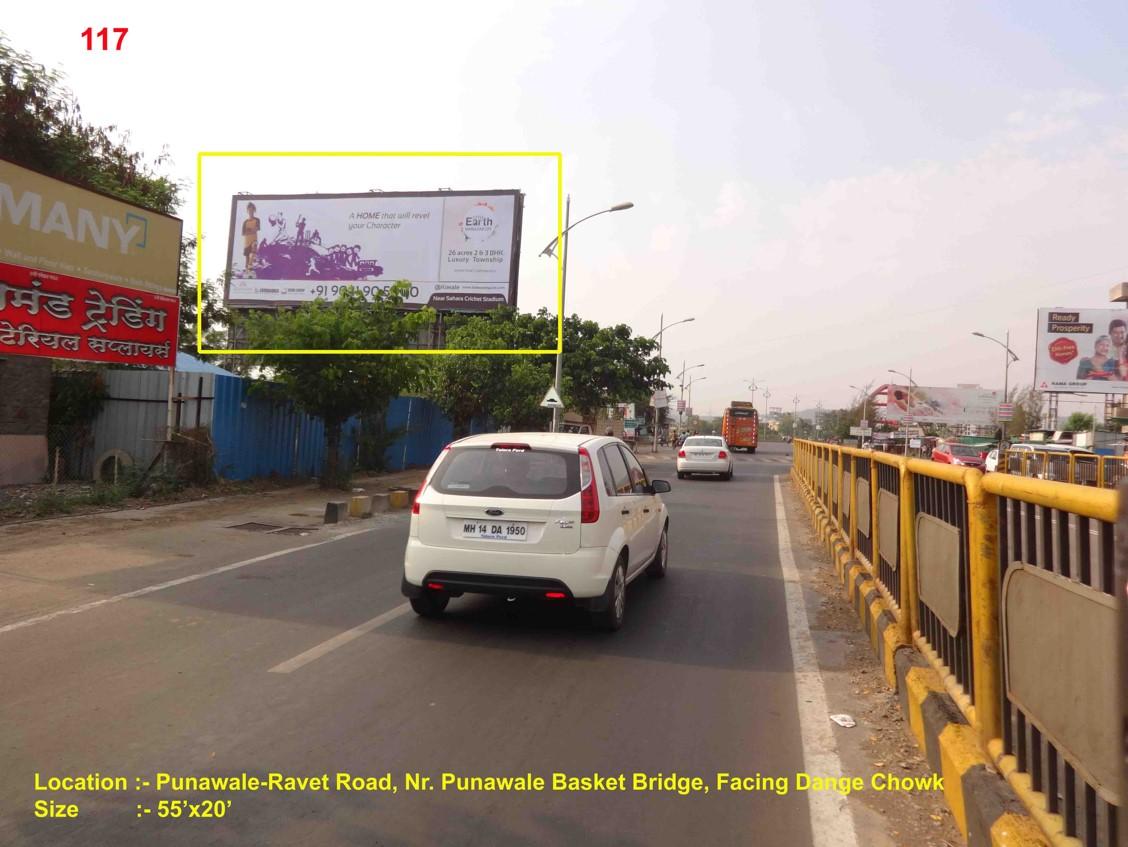 Nr. Punawale Ravet Bridge, Pune