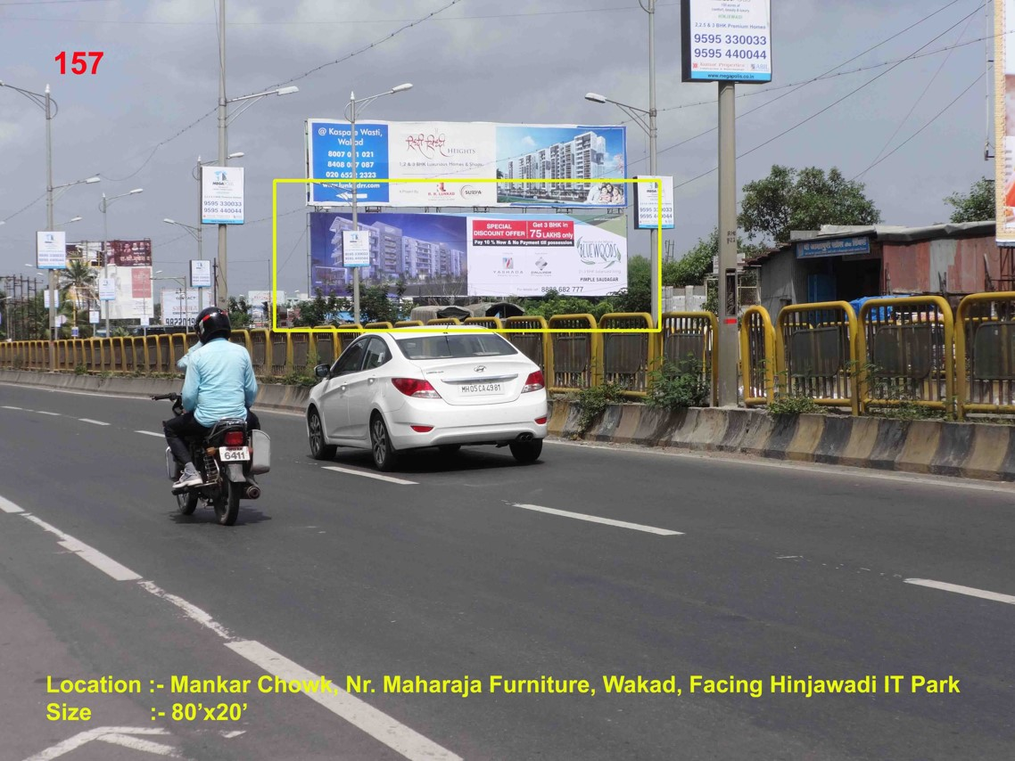 Mankar Chowk, Nr. Maharaja Furniture, Pune