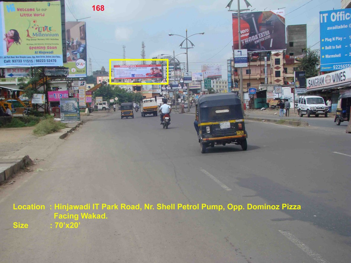 Hinjawadi It Park Road, Nr. Shell Petrol Pump, Opp. Dominos Pizza, Pune