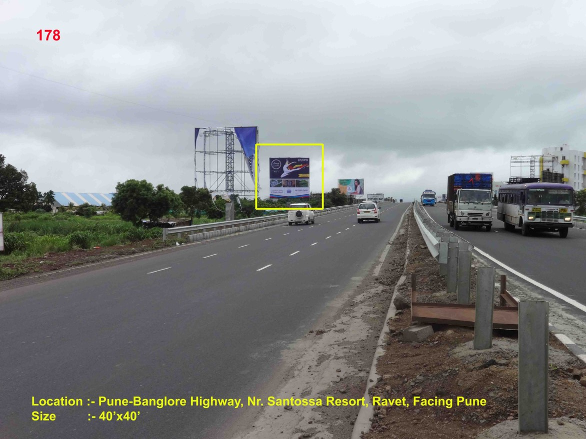 Pune-Banglore Highway, Nr. Santossa Resort, Ravet, Pune